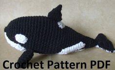 Amigurumi Orca Whale : Amigurumi: Whales, Dolphins, Sharks on Pinterest ...