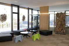 penthouse office Architekt: DI Martin Both, Foto: Gerda Eichholzer Innsbruck, Soho, Office Workspace, Divider, Interior, Furniture, Home Decor, Indoor, Homemade Home Decor
