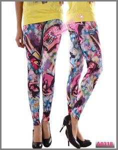 Beautiful Girl Printed Tight Leggings LML0064 Cheap Price Drop Shipping Free Shipping