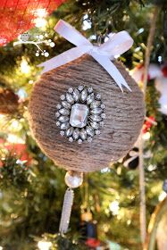 Lookie What I Did: Jute Wrapped Ornament