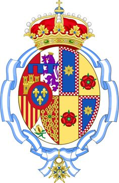 Coat of arms of Her Royal Highness Doña Letizia, Princess of Asturias, Princess of Viana, Princess of Girona, Duchess of Montblanc, Countess of Cervera and Lady of Balaguer.