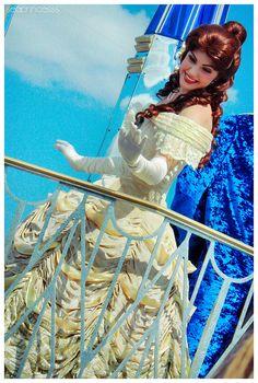Princess Belle ~ Celebrate A Dream Come True Parade