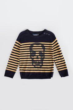sweater for child calvi lc midnight blue Zadig&Voltaire