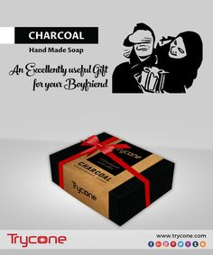 An excellently useful gift for your boyfriend! Trycone Handmade Charcoal Soap 100 Gm Pack Of 1 Soap.  Buy here: https://www.amazon.in/…/…/ref=cm_sw_r_wa_apa_i_To8TzbJD74TQ6  #trycone #charcoal #handmade #soap #gift #for #boyfriend #tryconegroup #makeinindia #madeinindia
