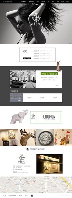 ren_urushiさんの提案 - ヘアサロンのホームページデザイン募集(TOP1ページのみ)※初心者の方も大歓迎です!   クラウドソーシング「ランサーズ」