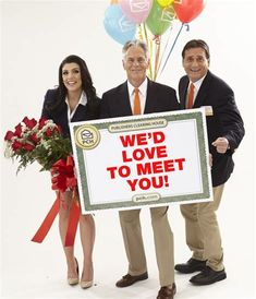 Publishers Clearing House Winners and Prize Patrol PCH - Bing images Instant Win Sweepstakes, Online Sweepstakes, Win For Life, Winner Announcement, Surprise Visit, Publisher Clearing House, Congratulations To You, Winning Numbers, Thing 1