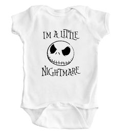 Hey, I found this really awesome Etsy listing at https://www.etsy.com/listing/182703968/nightmare-before-christmas-baby-romper