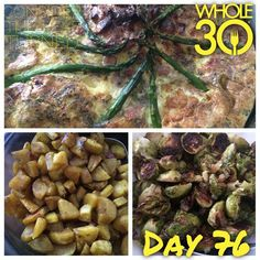 """Saturday afternoon brunch for the family - Whole30 style! Frittata with asparagus and chicken sausage + plantain bites + roasted Brussels sprouts with onion. Very tasty and everyone enjoyed!  #whole30 #whole100 #CTLTwhole100 #whole30homies #2015IGwhole30 #cleanwhole30 #eatrealfood #cleaneating #jerf #healthy #mealideas #paleo #recipe #blog #considertheleafTURNED #day76"" Photo taken by @considertheleafturned on Instagram, pinned via the InstaPin iOS App! http://www.instapinapp.com…"