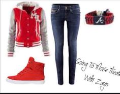 A cute outfit for school