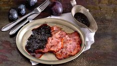 Uzené s povidlovou omáčkou: s červeným vínem a medem Steak, Pork, Chicken, Kale Stir Fry, Steaks, Pork Chops, Cubs