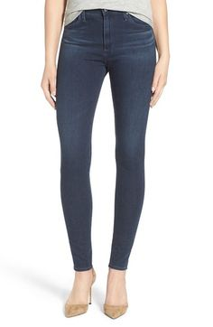 AG 'The Farrah' High Rise Skinny Jeans available at #Nordstrom