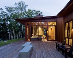 Medomak River House | Anmahian Winton Architects | Photo: Jane Messinger | Archinect