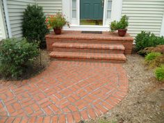 paving wonderful brick walkways and patios usa in basket weave paving pattern with small terracotta planter pots alongside outdoor rugs doormats