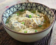 Pork Dumpling Soup | Easy Asian Recipes at RasaMalaysia.com