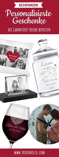 Raffinierte Gravur- und Fotogeschenke. Personalisierte Geschenke mit Herz für die ganze Familie und zu jedem Anlass, ob als Geschenkidee zum Geburtstag, Geschenk zum Jahrestag, Hochzeitsgeschenk oder zu Weihnachten. Ausgefallene Geschenkideen findest du auf Personello.com