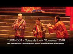 """Turandot - Gran Teatro Nacional 2016 - """"Romanza"""" Lima Peru"""