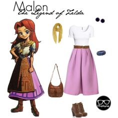 """""""Malon Closplay - The Legend of Zelda"""" by closplaying on Polyvore"""