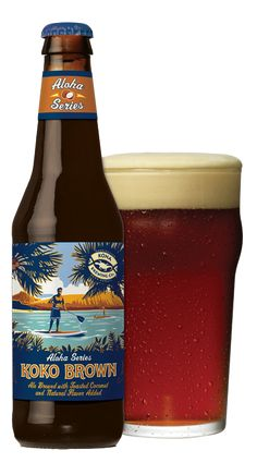 "Kona Brewing Co.: (Aloha Series) Koko Brown (7%ABV) A crisp, dark ale with a hint of coconut. Delightfully refreshing and perfect for the summer. Heavy enough for a man, smooth enough for a woman. Delicious with ""Asian"" cuisine. (Written by my Wife Eun Kyung Kim)"