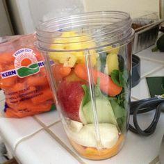 Before.... #breakfast #greenjuice #vegan #nutribullet #nutriblast