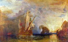 Joseph Mallord William Turner - Ulysses Deriding Polyphemus (1829)