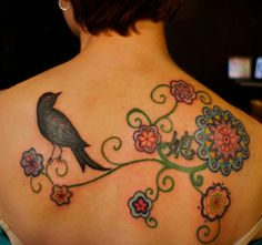 I'm not much for ripping tattoo ideas off of people, but this is by far MY FAVORITE tattoo EVER.