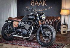 Triumph Bonneville T100 900 by Baak Motorcycles