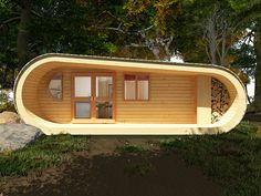 """Cool cabin. Wouldn't this look great amongst all the rustic """"campy"""" camps on an Adirondack lake?"""
