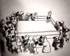 بدون تعليق /: كاريكاتير رسم قبل اكثر من ٣٠ عام لناجي العلي ،،،، وينطبق على احوالنا الحالية !!