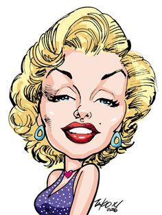 Marilyn Monroe by Tako X.