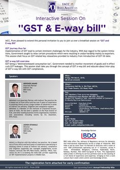 """Interactive Session On """"GST"""