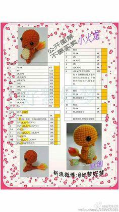 Best 12 Shared with Dropbox – SkillOfKing. Pokemon Crochet Pattern, Pikachu Crochet, Crochet Amigurumi Free Patterns, Crochet Doily Patterns, Crochet Animal Patterns, Crochet Dolls, Crochet Case, Cute Crochet, Crochet Crafts