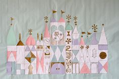 It's a Small World birthday! Love it!