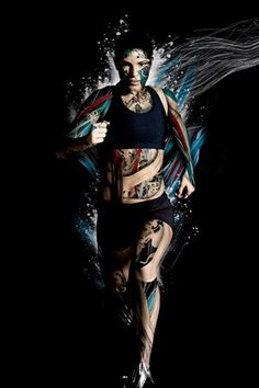 25 Creative Photo Manipulation works and Digital Art works by Alberto Seveso Editorial Illustration, Sports Graphics, Runners World, Injury Prevention, Running Shoes For Men, Running Pose, Girl Running, Photo Manipulation, Marathon