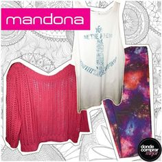 Increíble look de Mandona Tienda. ¿Te gusta? www.dondecomprarmejor.com/mandona