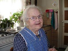 Zelfde tanteke 80 jaar later. Overleden in de leeftijd van 101 jaren oud.