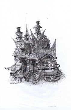 Architectural Visual References (fantasy/reality) | Jedidoodles