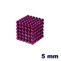 NeoCube Púrpura de 5 mm    http://www.regatron.es/neocube/neocube-purpura-cubo-de-216-bolas-de-5-mm-de-diametro.html