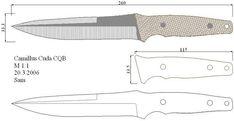 Чертежи ножей 10 вариантов (ст.17)