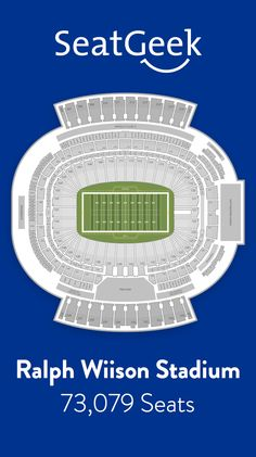Find the best deals on Buffalo Bills tickets and know exactly where you'll sit with SeatGeek.