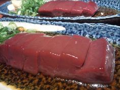 Liver sashimi wash daily worries, troubles, and difficulties away.
