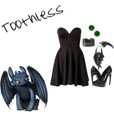 """""""Toothless"""" by morgan-graves on Polyvore"""