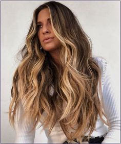Brown Hair Balayage, Brown Blonde Hair, Hair Highlights, Light Brown Ombre Hair, White Blonde, Blonde Wig, Light Hair, Brunette Hair, Champagne Blonde Hair