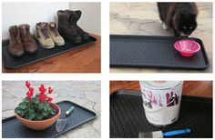Amazon.com : Multi-purpose Tray by Alex Carseon, for Boots, Shoes, Paint, Pets, Garden, Laundry, Kitchen, Pantry, Car, Entryway, Garage, Mudroom. Indoor-Outdoor Storage and Floor Protection, Use as Cat Litter Mat or Dog Feeding Mat - 30x15x1.2 inches : Patio, Lawn & Garden