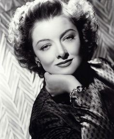 Myrna Loy, 1940s. .....Uploaded By  www.1stand2ndtimearound.etsy.com