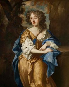 ca. 1670 Miss Vere Isham (1655–1674), daughter of 2nd Bt Isham by circle of Sir Peter Lely (Lamport Hall - Lamport, Northamptonshire UK) | Grand Ladies | gogm
