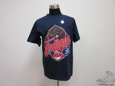 Vtg 90s Tour Champ Cleveland Indians Short Sleeve Crewneck t Shirt sz L Large #TourChamp #ClevelandIndians #tcpkickz