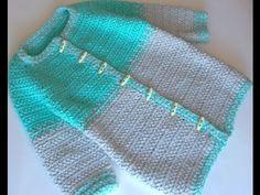 ☆Осенне-весеннее пальто, вязание крючком для начинающих, crochet. - YouTube
