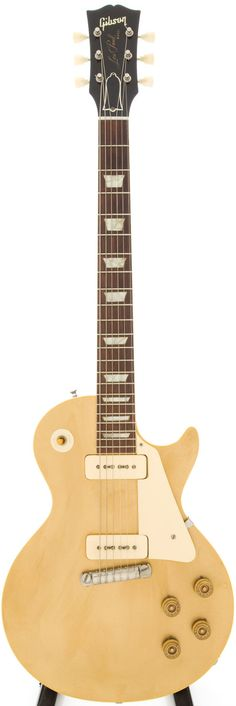 1953 Gibson Les Paul Gold Top Solid Body Electric Guitar, Serial # 3 2120.