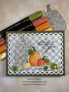 CC2C is Falling Into the New Catalog Fall Cards, Winter Cards, Pumpkin Cards, Leaf Cards, Birthday Cards For Friends, Embossed Cards, Stamping Up Cards, Thanksgiving Cards, Pretty Cards
