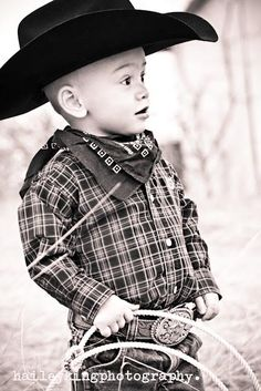 cutest cowboy... i want connor to be a cowboy for halloween!!